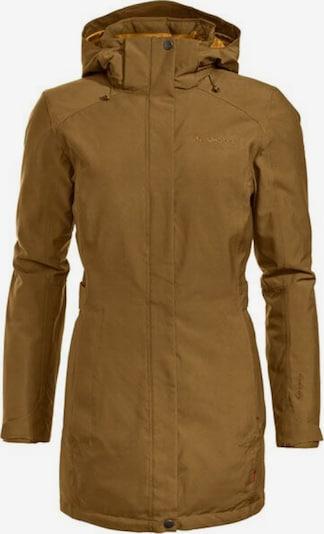 VAUDE Jacke 'Skomer Winter Parka' in braun / bronze, Produktansicht