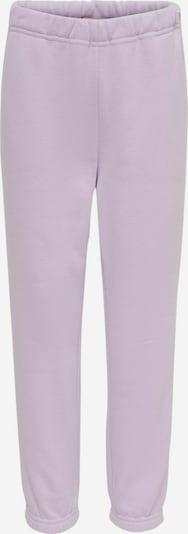 KIDS ONLY Pantalon 'Comfy' en lavande, Vue avec produit