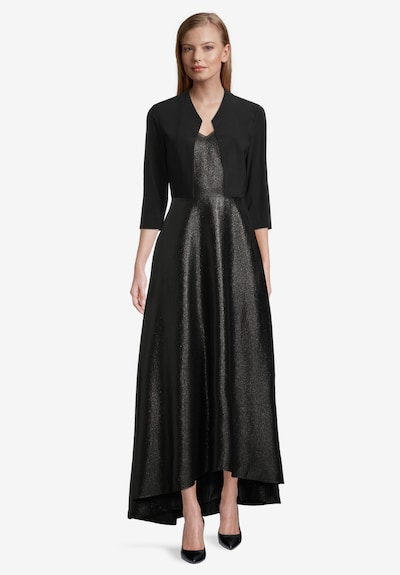 Vera Mont Bolero-Jacke figurbetont in schwarz, Modelansicht