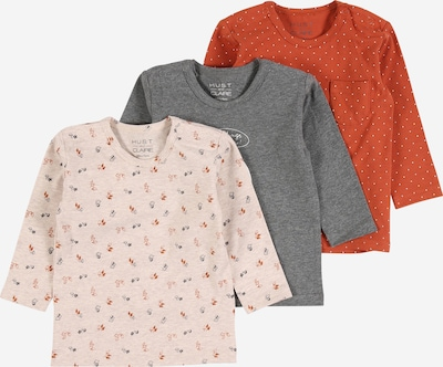 Hust & Claire T-Shirt in grau / rostrot, Produktansicht
