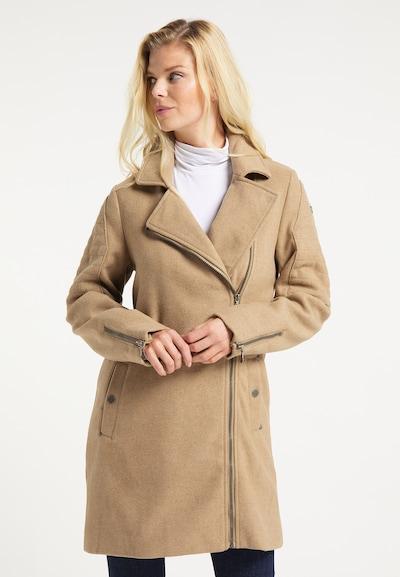 DreiMaster Vintage Mantel in sand, Modelansicht