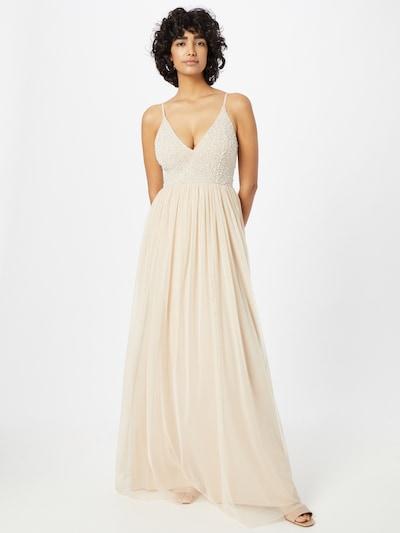 LACE & BEADS Kleid 'Marsia' in creme / weiß, Modelansicht