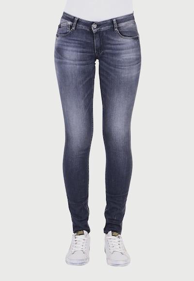 Le Temps Des Cerises Jeans 'PULP' in grau, Modelansicht