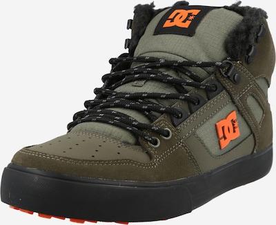 DC Shoes Sneaker in khaki / oliv / hellorange, Produktansicht