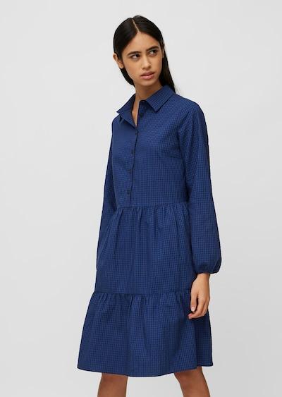 Marc O'Polo DENIM Stufenkleid ' aus Seersucker-Qualität ' in blau, Modelansicht
