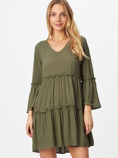 JDY Kleid 'RIANA' in khaki, Modelansicht