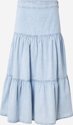 Gina Tricot Skirt 'Flounce' in Blue