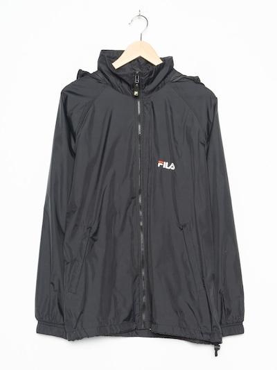 FILA Regenmantel in XL in schwarz, Produktansicht