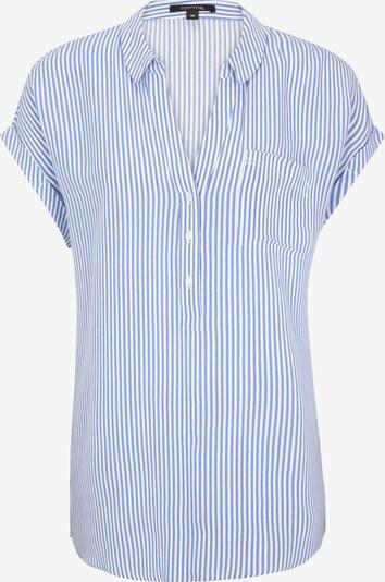 COMMA Bluse in blau / weiß, Produktansicht