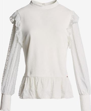 Salsa Bluse 'SAMARA' in Weiß