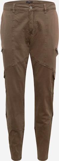 Zizzi Pantalon cargo 'Camryn' en vert foncé, Vue avec produit