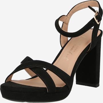 NEW LOOK Sandale 'QUEENY' in Schwarz