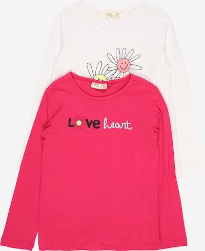 OVS T-Shirt en bleu clair / jaune clair / rose / noir / blanc, Vue avec produit