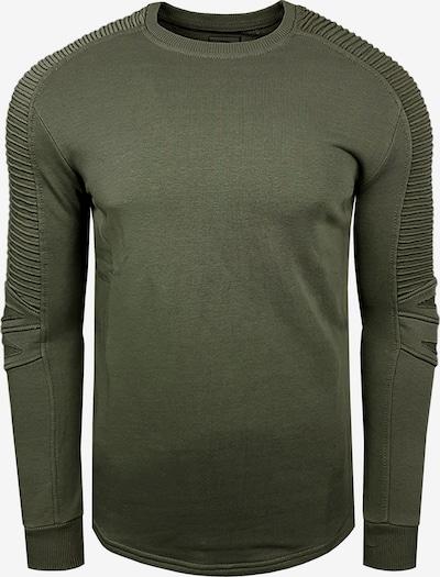 Rusty Neal Sweatshirt in khaki, Produktansicht