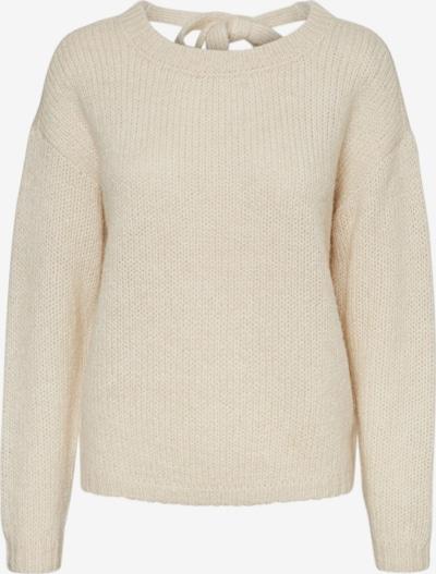VERO MODA Pullover 'VMDARYA LS V-NECK' in beige, Produktansicht