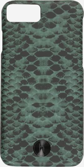 Holdit Älypuhelimen suojakotelo 'Paris Emerald' värissä vaaleanvihreä / musta, Tuotenäkymä