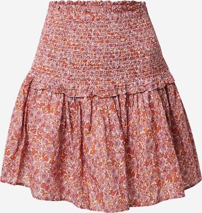 GAP Kjol i rosa / orangeröd / vit, Produktvy