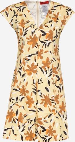 MAX&Co. Sukienka w kolorze żółty