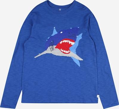 GAP Shirt in blau / grau / rot / weiß, Produktansicht