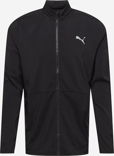 PUMA Športová bunda - dymovo šedá / čierna, Produkt