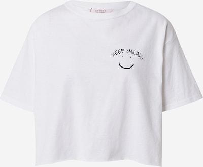 Miss Selfridge (Petite) Majica 'LA VIE BELLE' u crna / bijela, Pregled proizvoda