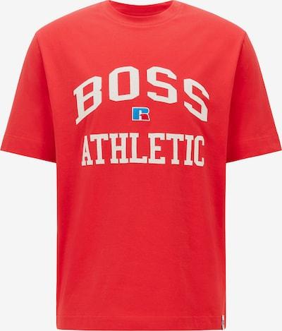 BOSS Casual Тениска 'Russell Athletic' в синьо / червено / бяло, Преглед на продукта
