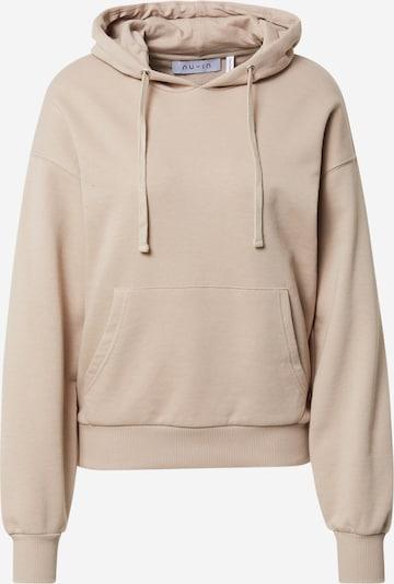 NU-IN Sweatshirt i pudder, Produktvisning