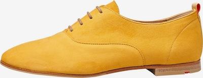 LLOYD Halbschuhe mit flachem Absatz in gelb, Produktansicht