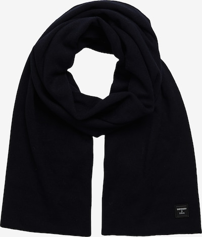 Superdry Sjaal in de kleur Donkerblauw, Productweergave