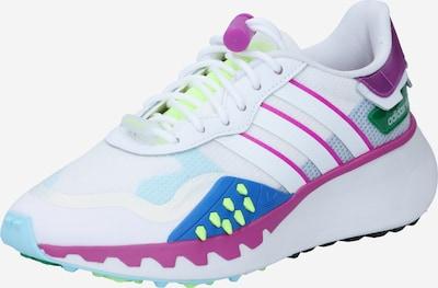 Sportbačiai be auliuko 'CHOIGO' iš ADIDAS ORIGINALS , spalva - mėlyna / neoninė geltona / tamsiai violetinė / balta, Prekių apžvalga