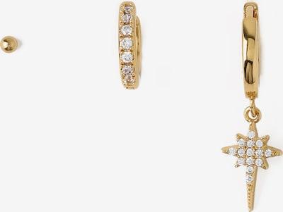 Orelia Sada šperků 'Crystal Starburst Ear Party' - zlatá / průhledná, Produkt