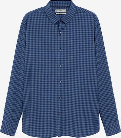 MANGO MAN Overhemd 'Vichy' in de kleur Blauw / Navy, Productweergave