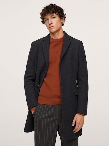 MANGO MAN Преходно палто 'Arizona' в сиво