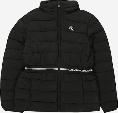 Giacca di mezza stagione 'INTARSIA' Calvin Klein Jeans di colore nero / bianco, Visualizzazione prodotti