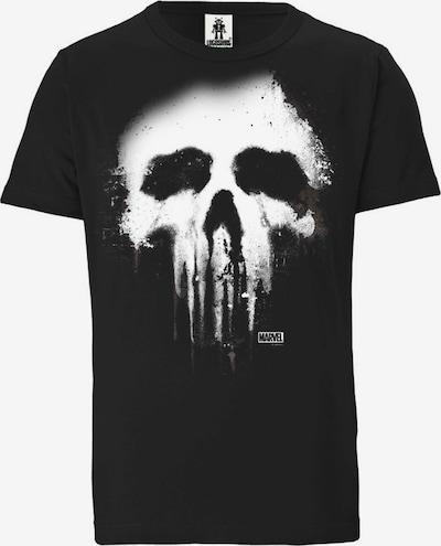LOGOSHIRT T-Shirt 'Marvel Comics' in schwarz, Produktansicht