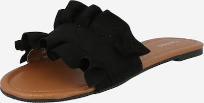 PIECES Pantolette 'Nola' in schwarz, Produktansicht