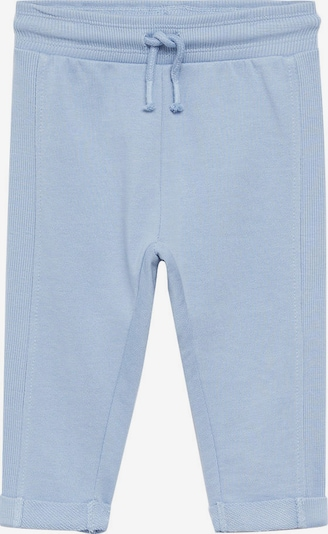 MANGO KIDS Pantalon en bleu clair, Vue avec produit