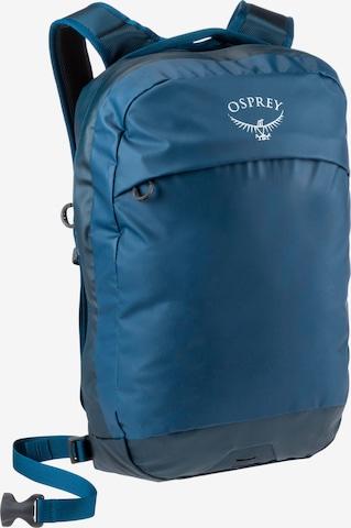 Osprey Rucksack 'Transporter Pnael Loader' in Blau