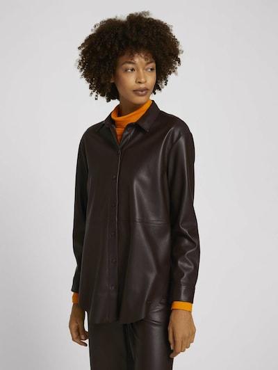 MINE TO FIVE Bluse in schwarz, Modelansicht