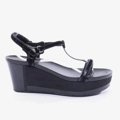 PRADA Sandals & High-Heeled Sandals in 39,5 in Black, Item view