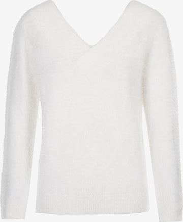 Morgan Pullover in Weiß