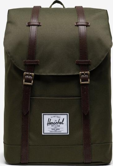Herschel Sac à dos 'Retreat' en vert, Vue avec produit