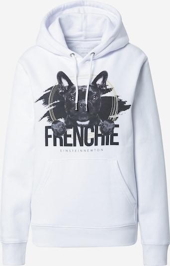 pasztellsárga / grafit / fehér EINSTEIN & NEWTON Tréning póló 'Frenchie', Termék nézet