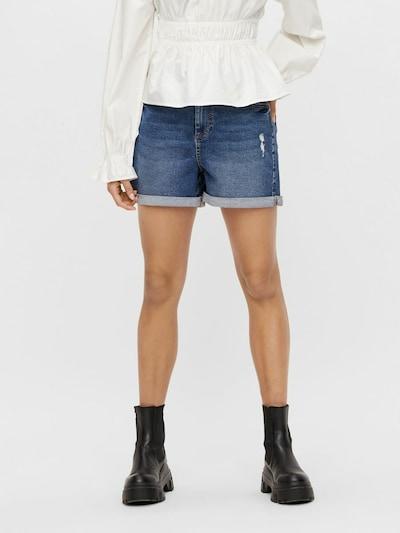 PIECES Jeans 'Pacy' in blue denim, Modelansicht