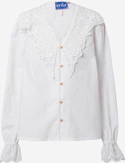 Crās Blouse 'Vilma' in de kleur Wit, Productweergave