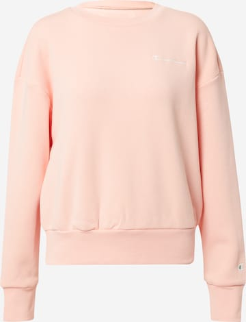 Champion Authentic Athletic Apparel Sweatshirt in Pink