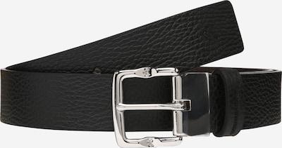 Calvin Klein Jeans Ledergürtel in schwarz / silber, Produktansicht