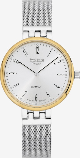 Bruno Söhnle Uhr in gold / silber, Produktansicht