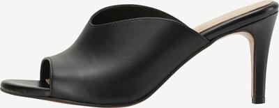 DreiMaster Klassik Mules in schwarz, Produktansicht