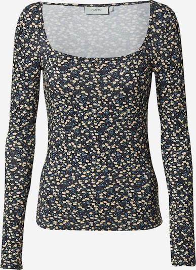 Moves T-shirt en bleu / jaune / noir / blanc, Vue avec produit